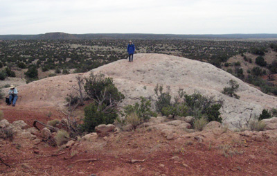 Galisteo Basin overlook