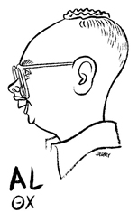 Al college caricature