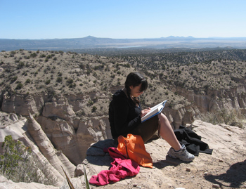 Julia at Tent Rocks