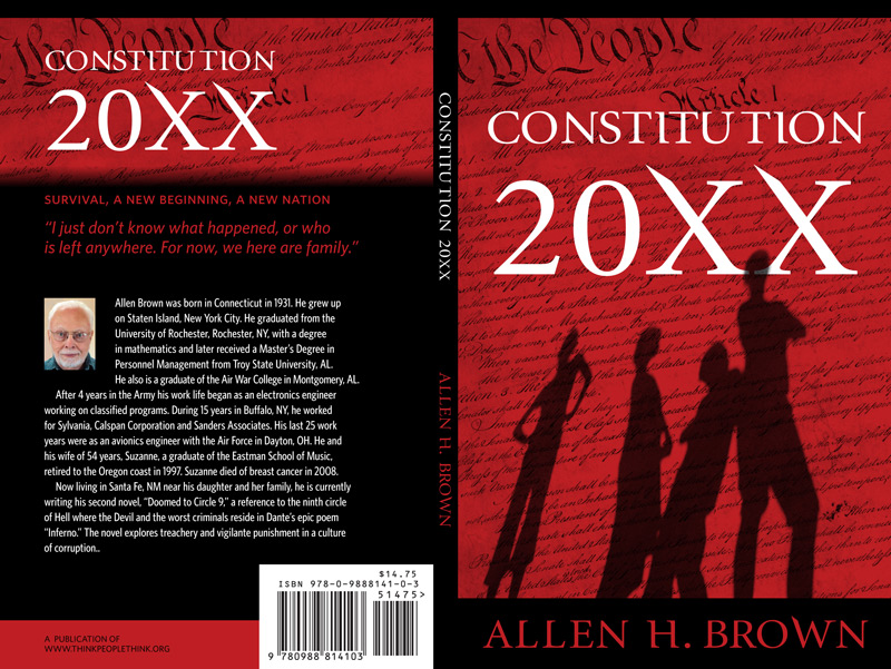 Constitution 20XX book covers